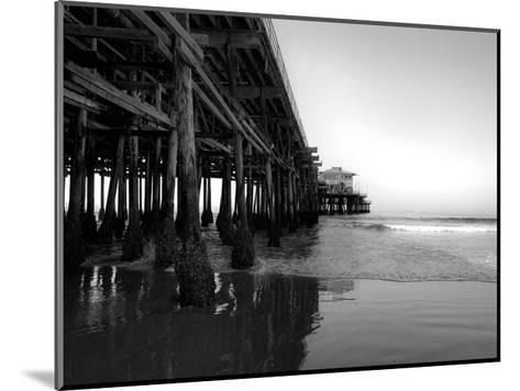 Californian Pier-Tracey Telik-Mounted Art Print