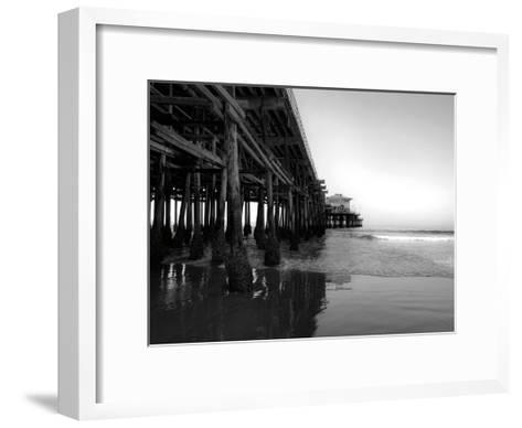 Californian Pier-Tracey Telik-Framed Art Print