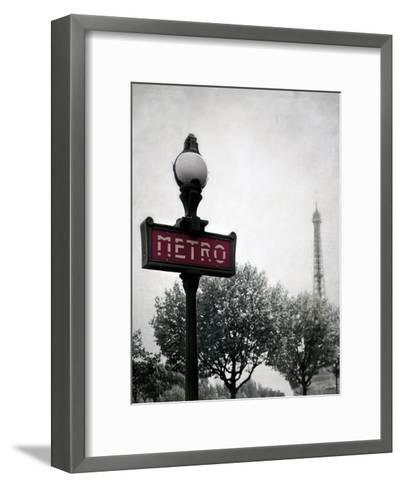 Metro Catching-Tracey Telik-Framed Art Print