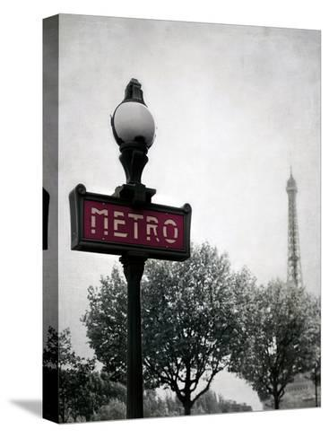 Metro Catching-Tracey Telik-Stretched Canvas Print