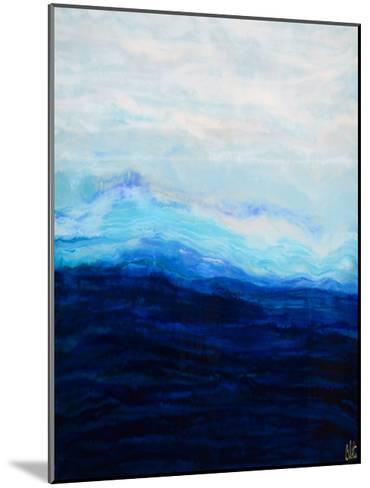 Waterfall IV-Barbara Bilotta-Mounted Art Print