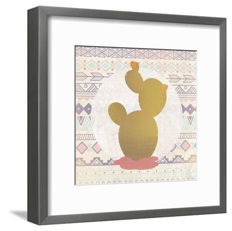 Ethnic Cactus 3-Kimberly Allen-Framed Art Print