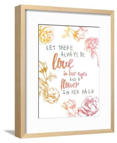 Love 1-Victoria Brown-Framed Art Print