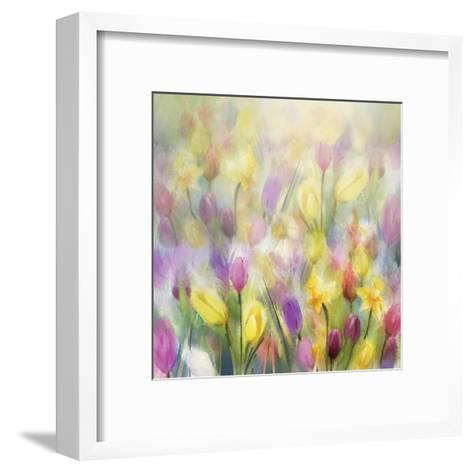 Daffodils and Tulips-N^ Pommingmas-Framed Art Print