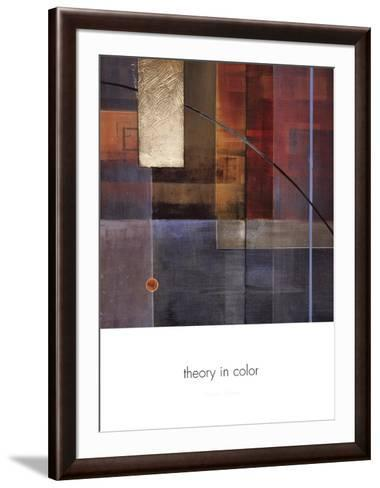 Theory in Color-Laurie Chase-Framed Art Print