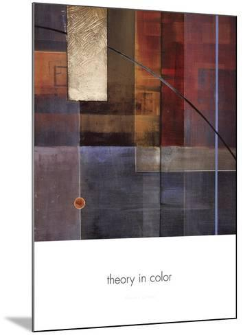Theory in Color-Laurie Chase-Mounted Art Print