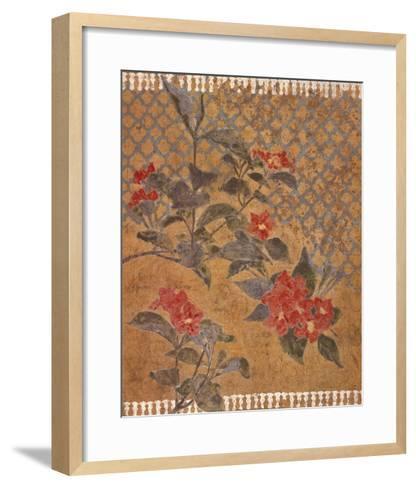 Gold Foil III-William Galvez-Framed Art Print