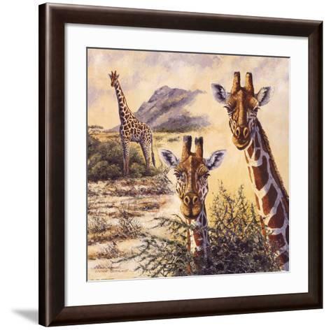 Safari IV-Gary Blackwell-Framed Art Print