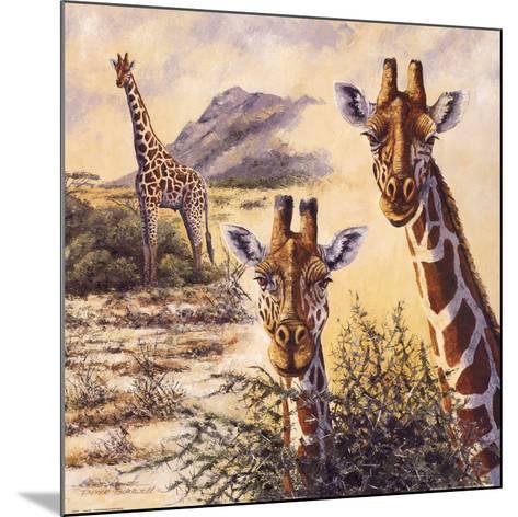 Safari IV-Gary Blackwell-Mounted Art Print