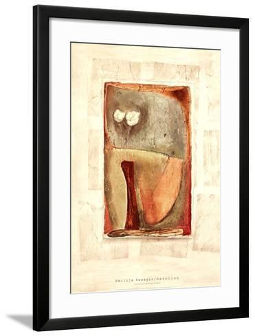 DEVOTION-Emilija Pasagic-Framed Art Print