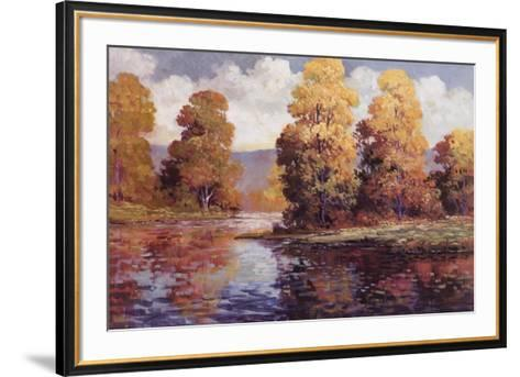 Clear Lake I-Tim Johnson-Framed Art Print