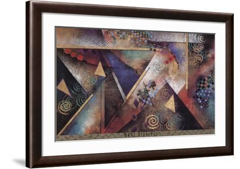 MY LOVE'S ARRIVAL-Mari Giddings-Framed Art Print