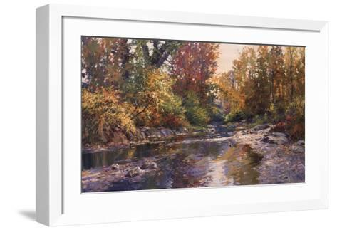 PEACEFUL SHOALS-Connie Boswell-Framed Art Print