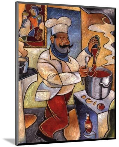 Pablo's Red Sauce-John Milan-Mounted Art Print