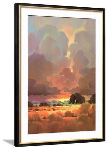 Last Light II-John Stevenson-Framed Art Print