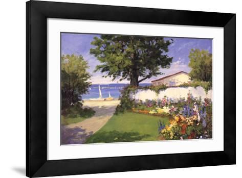 LAKESIDE II-Peter Beckmann-Framed Art Print