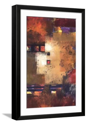 Delineation II-Pietro Adamo-Framed Art Print