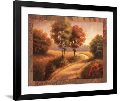 Afternoon Path-Michael Mathews-Framed Art Print