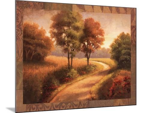 Afternoon Path-Michael Mathews-Mounted Art Print