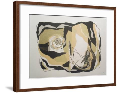 The Death of Fedallah-Benton Spruance-Framed Art Print