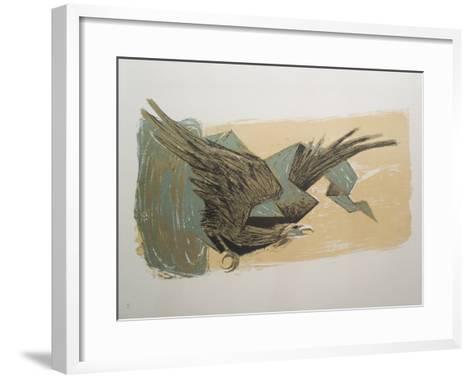 Sky Hawk-Benton Spruance-Framed Art Print