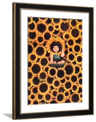 Sunflower-Anne Geddes-Framed Art Print