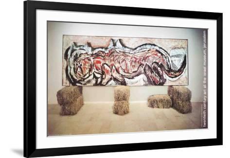 Tiger-Mario Merz-Framed Art Print