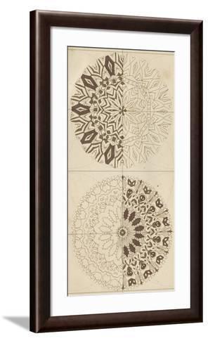 Sacred Geometry Sketch I-Naomi McCavitt-Framed Art Print