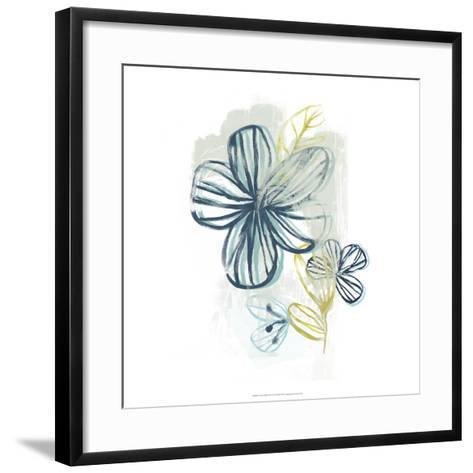 Floral Offset II-June Erica Vess-Framed Art Print