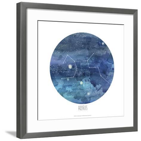 Constellation-Aquarius-Naomi McCavitt-Framed Art Print