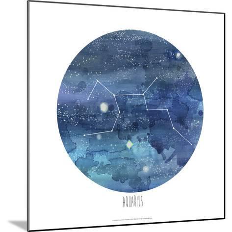 Constellation-Aquarius-Naomi McCavitt-Mounted Art Print