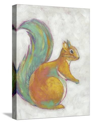 Woodland Friends I-Chariklia Zarris-Stretched Canvas Print