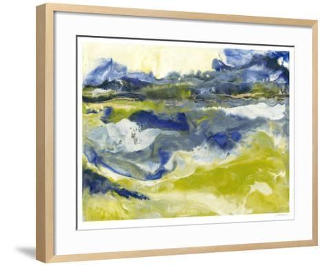 Marine Flow II-J^ Holland-Framed Art Print