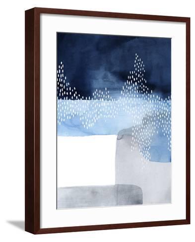 Waterfall Abstract I-Grace Popp-Framed Art Print