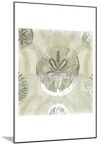 Metallic Shell Tiles II-June Erica Vess-Mounted Art Print