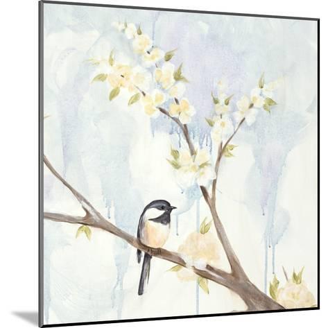 Spring Chickadees II-Jade Reynolds-Mounted Art Print