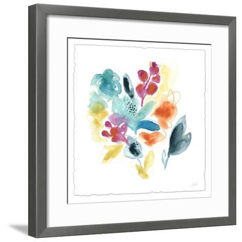 Bloom Spectrum II-June Erica Vess-Framed Art Print