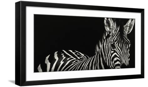 Scratchboard Incline-Julie Chapman-Framed Art Print