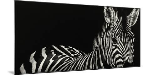 Scratchboard Incline-Julie Chapman-Mounted Giclee Print