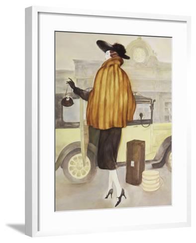 Vintage Lady IV-Graham Reynolds-Framed Art Print