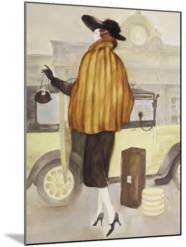 Vintage Lady IV-Graham Reynolds-Mounted Art Print