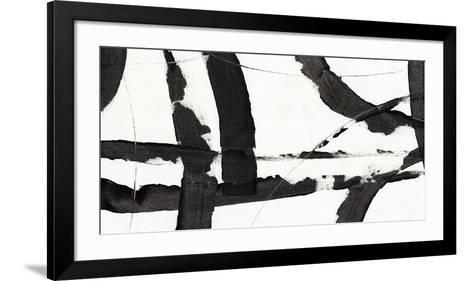 Obsidian Harmony I-Tim O'toole-Framed Art Print