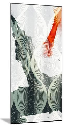 Minimal Wave II-Sisa Jasper-Mounted Art Print