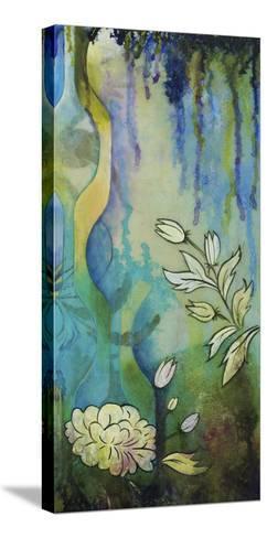 Pond Dripples II-Heather Robinson-Stretched Canvas Print
