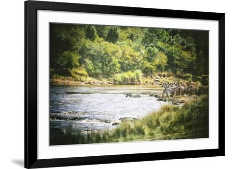 African Plains VIII-Golie Miamee-Framed Art Print