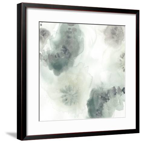 Lily Pad Watercolor I-June Erica Vess-Framed Art Print