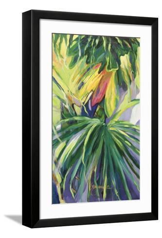 Jardin Abstracto II-Suzanne Wilkins-Framed Art Print