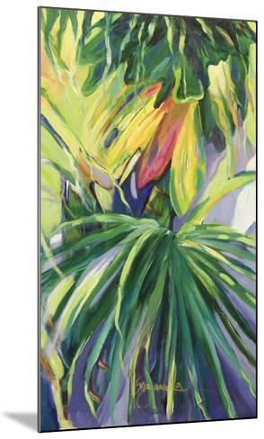 Jardin Abstracto II-Suzanne Wilkins-Mounted Art Print
