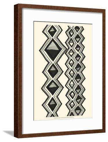 Mud Cloth Study I-Renee W^ Stramel-Framed Art Print