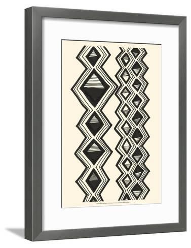 Mud Cloth Study I-Renee W^ Stramel-Framed Art Print